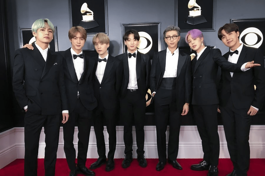 BTS's Grammy Awards Outfits