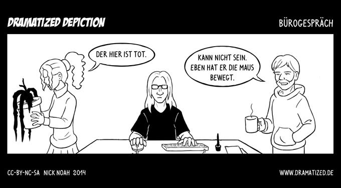 Bürogespräch