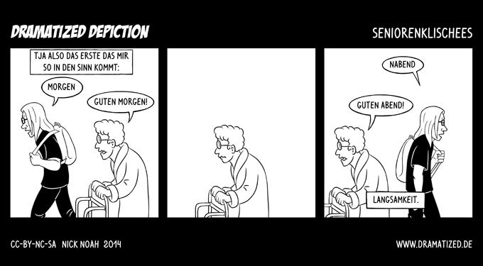 Seniorenklischees