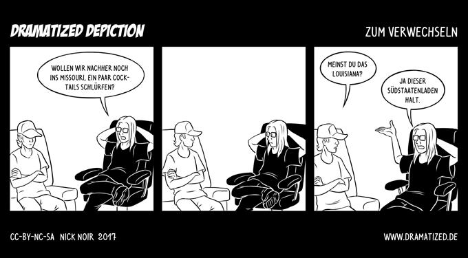 Zum Verwechseln