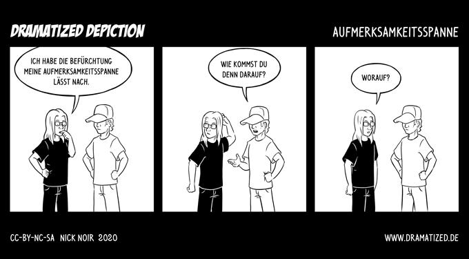 Aufmerksamkeitsspanne