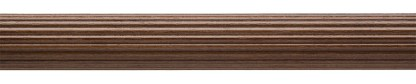 Reeded Pole Dark Oak