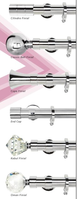 Altran Polished Chrome Collection