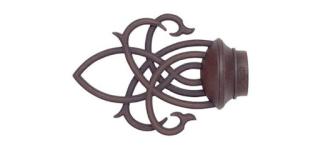 farmhouse curtain rods hardware