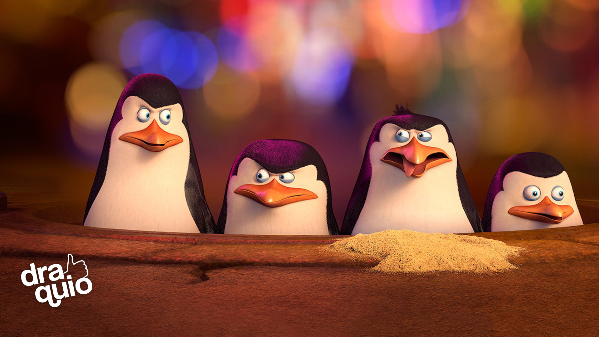 Las Voces de Pingüinos de Madagascar