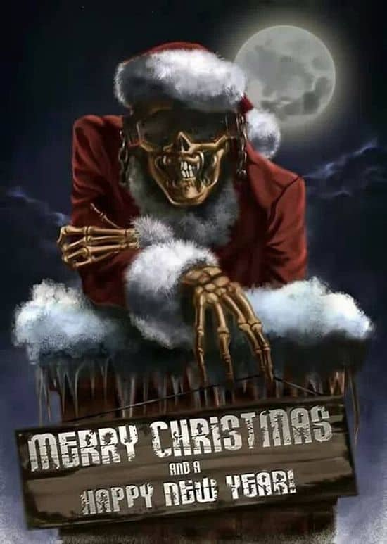 Megadeth Christmas Cards Dravens Tales From The Crypt