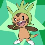 How To Draw Chespin Pokemon X And Y