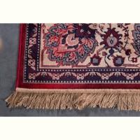 old bid tapis de salon persan rouge