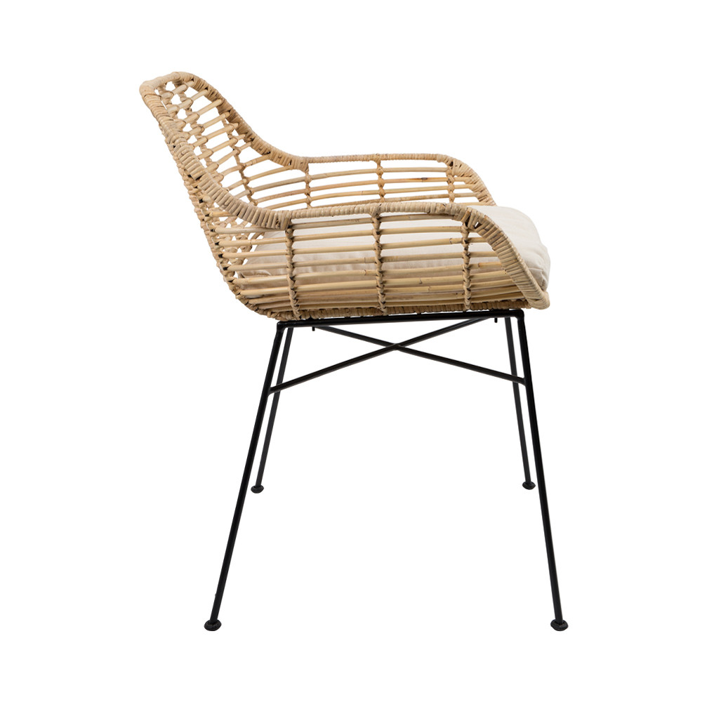 Fauteuil Rotin A Bascule Excellent Fauteuil Rotin Fly