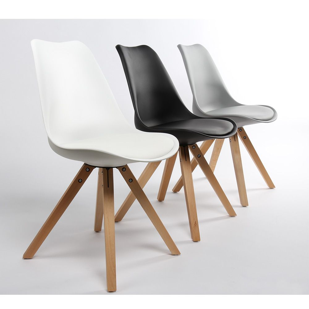 Lot De 2 Chaises Design Ormond Wood Par Drawerfr