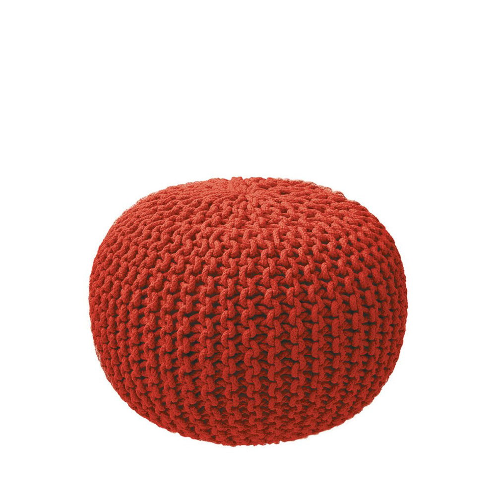 Pouf Tricot En Maille Original Pas Cher By Drawer