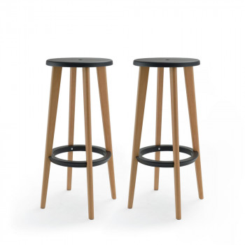 drawer lot de 2 tabourets de bar 76 cm harry s