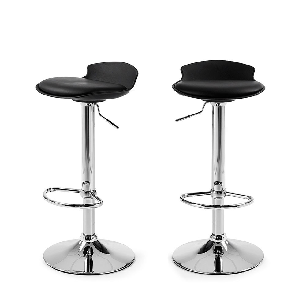 lot de 2 tabourets de bar design uma one