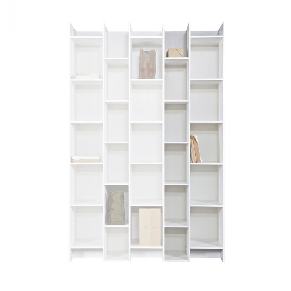extension 2 colonnes pour bibliotheque woood klasina