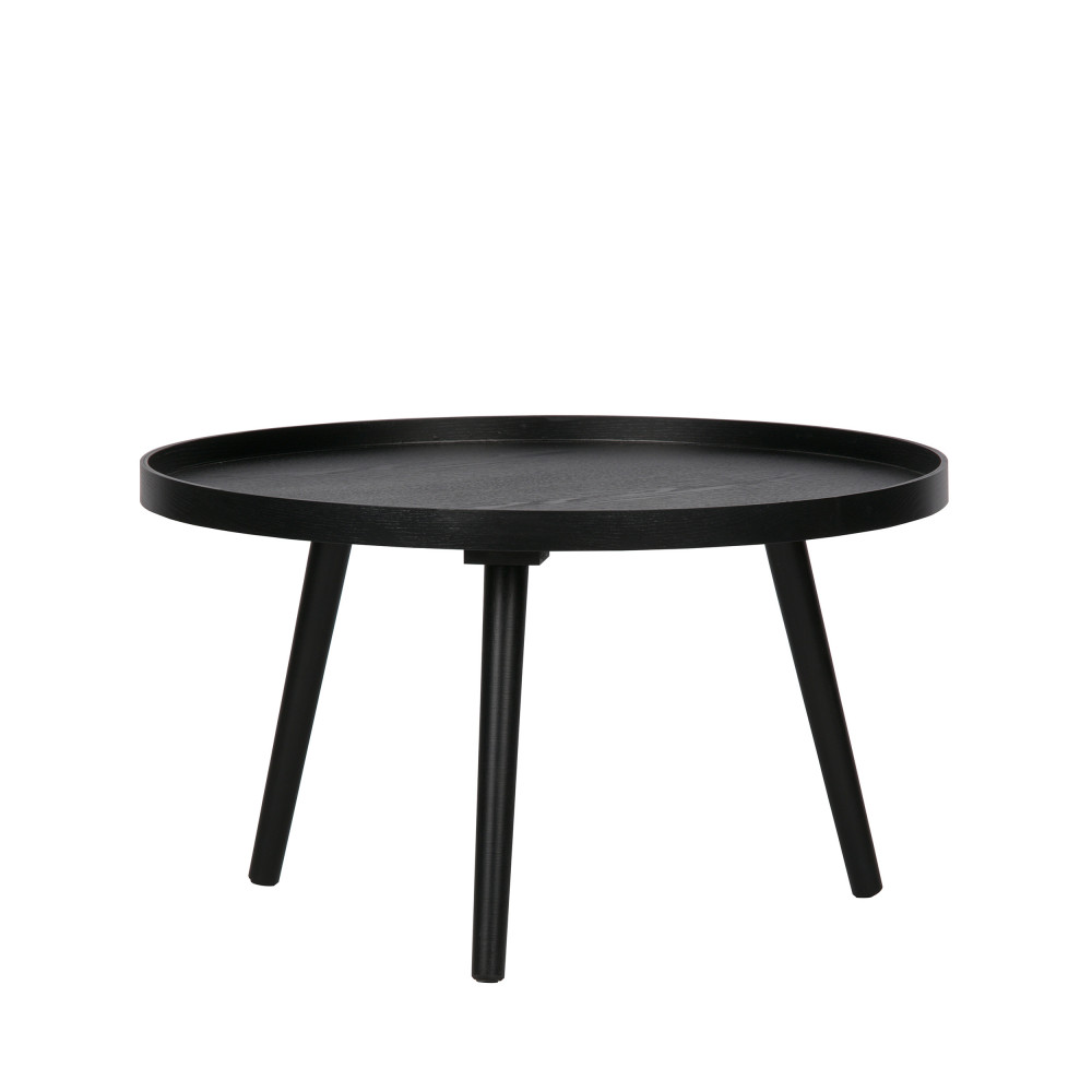 table d appoint ronde bois l woood mesa