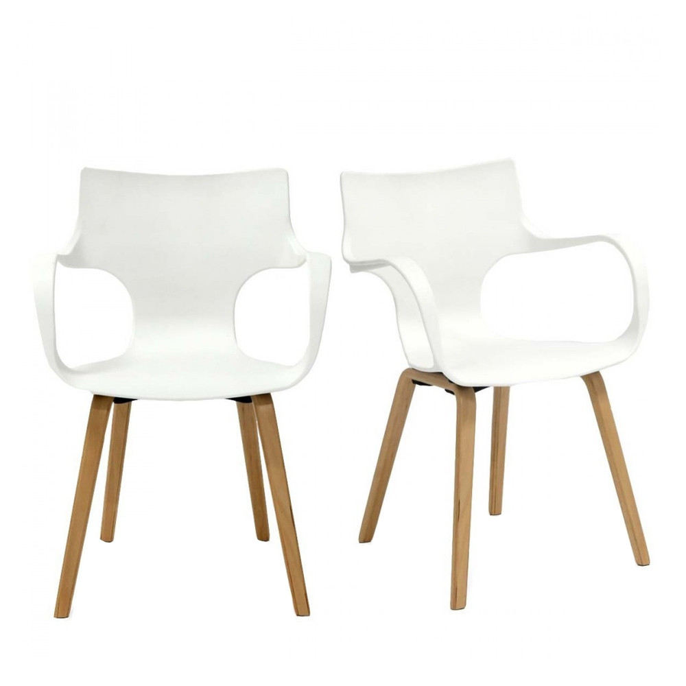 Lot De 2 Chaises Design Rockwood By Drawer