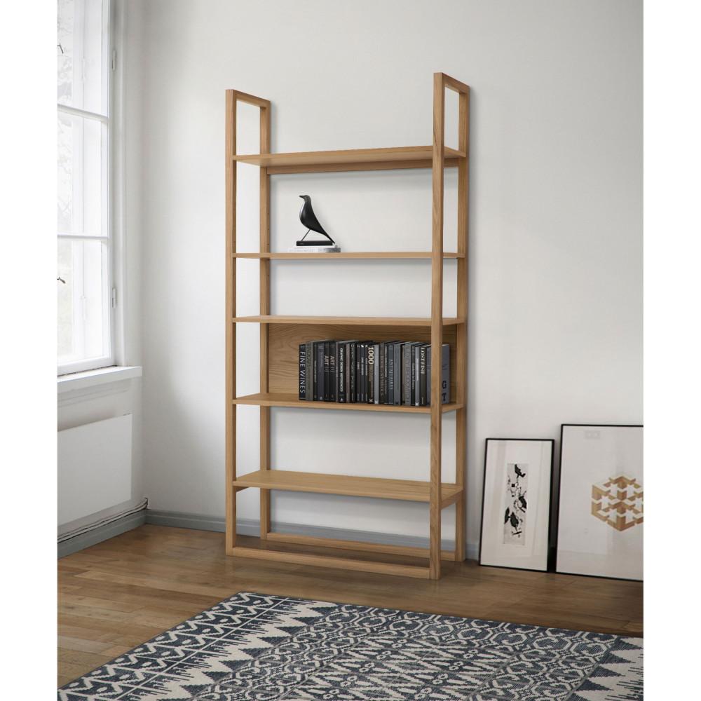 bibliotheque design en bois woodman newest