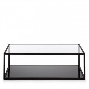 blackhill table basse rectangle en metal