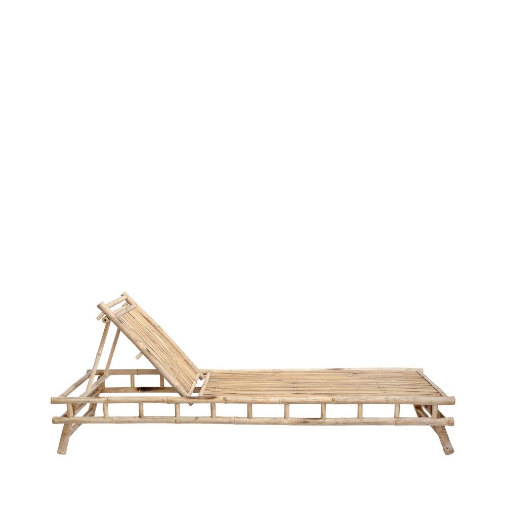 chaise longue en bambou bloomingville sole