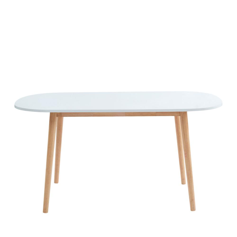 table a manger scandinave 160 x 80 cm gurra