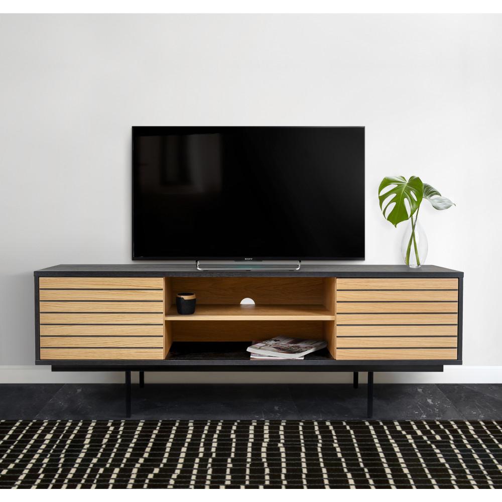 نحاس تتطور انحنى meuble tv promotion