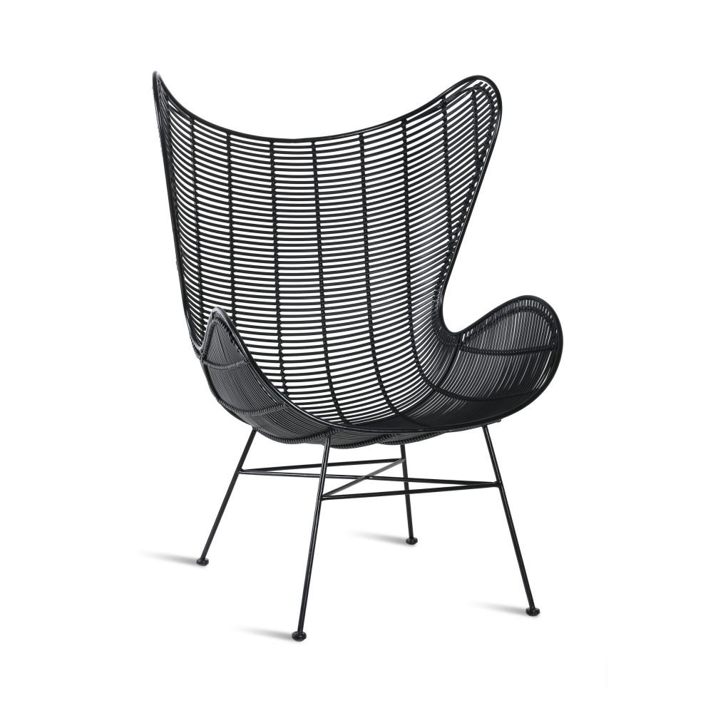 fauteuil de jardin en resine hkliving tuaran