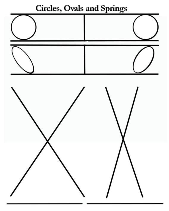 circles ovals and springs blank