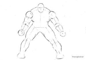 How to draw the Incredible Hulk   Drawingforall
