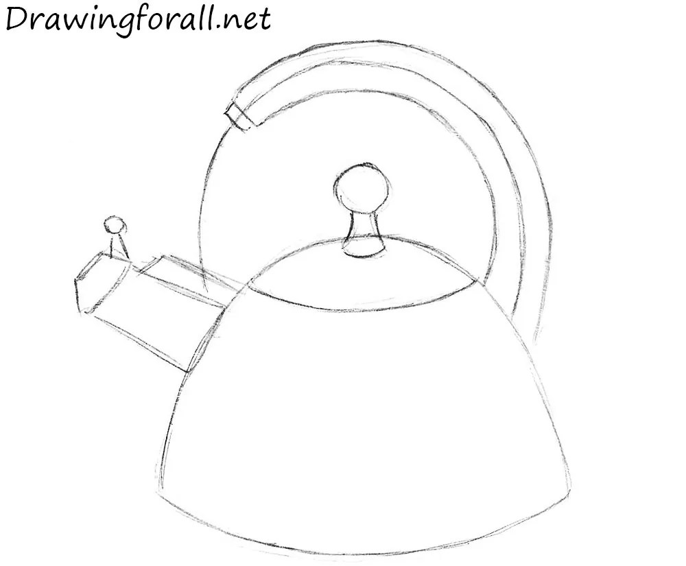 Kettle Line Drawing Wwwimgkidcom The Image Kid Has It