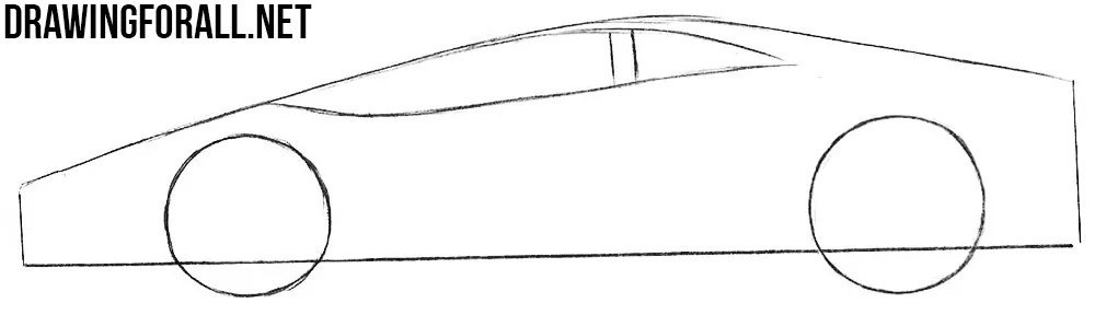 How Easy to Draw Sports Cars | Drawingforall.net