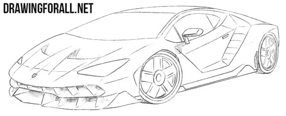 How to Draw a Race Car Step by Step | Drawingforall.net