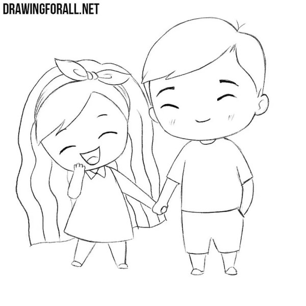 How to Draw Chibi Love   Drawingforall.net