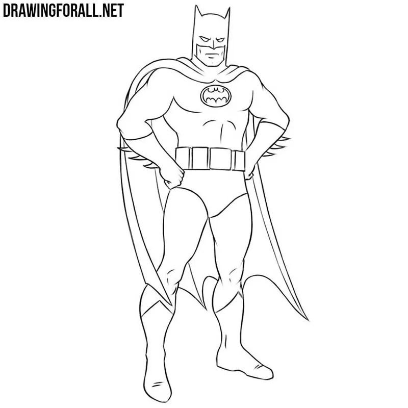 How To Draw Batman Easy Drawingforall Net