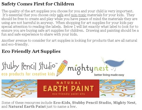 Drawing for Kids - Art Supply Screen Shot