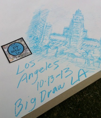 Drawing for Kids Big Draw LA Sketch