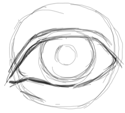 Step 5 : Drawing Realistic Eyes with Simple Steps