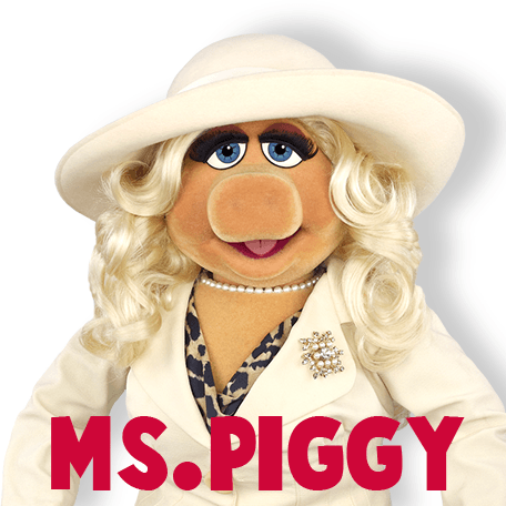 How To Draw Miss Piggy From The Muppets Show And Movie In