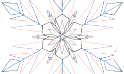 Easy Drawing Snowflake