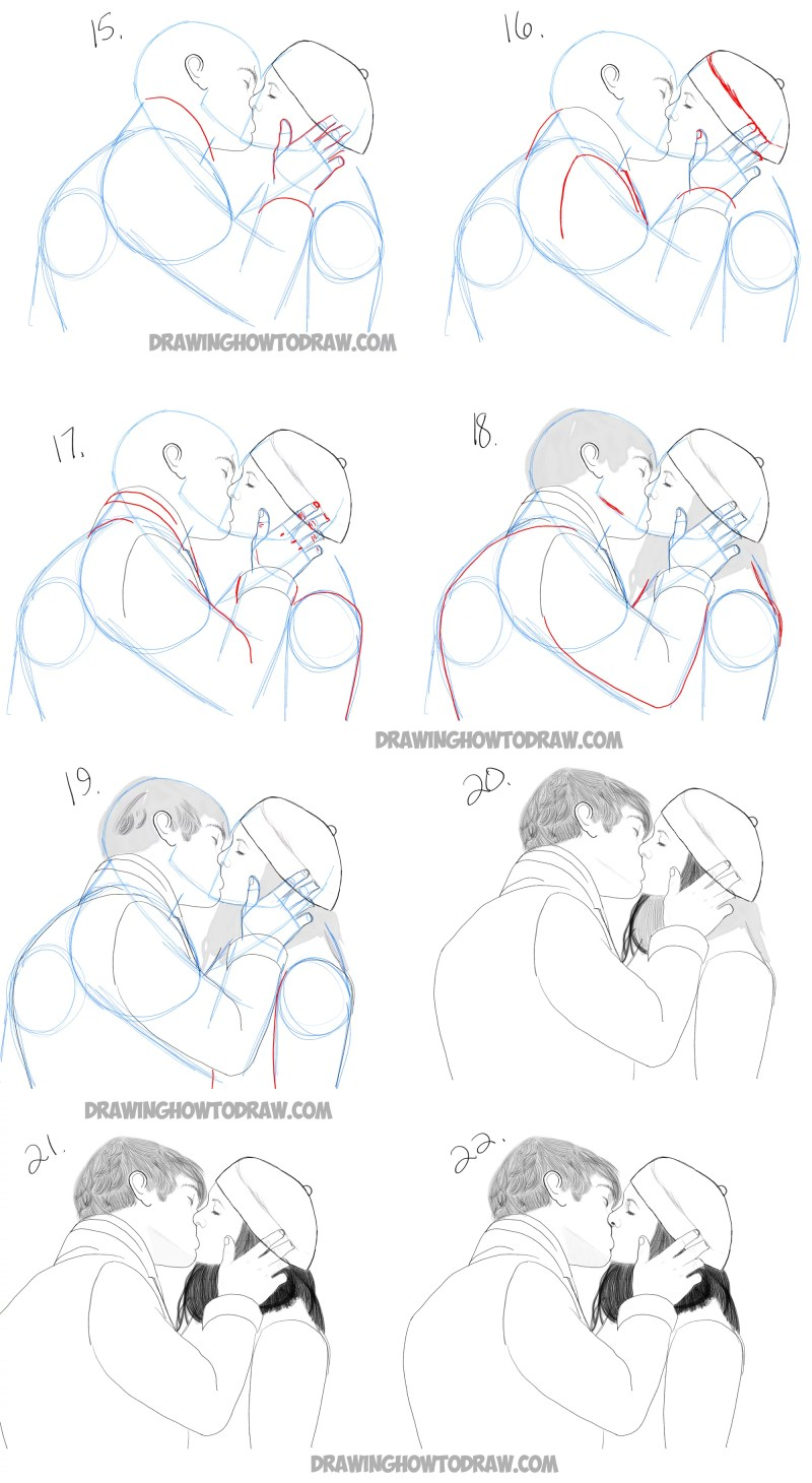 Learn how to kiss step by step