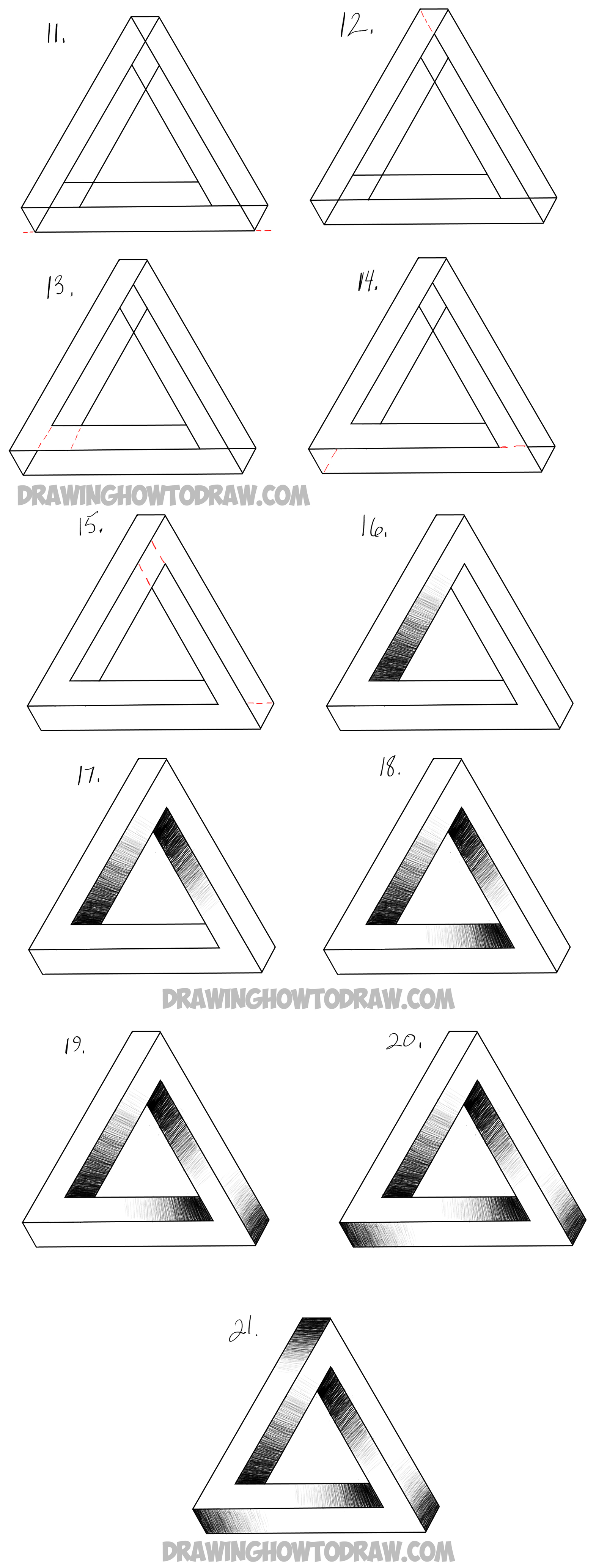 How To Draw An Impossible Triangle
