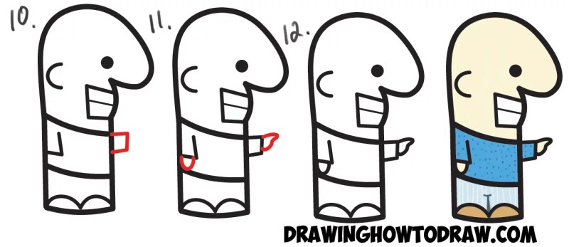 Cool Cartoon Characters Easy To Draw Cartoonsite Co