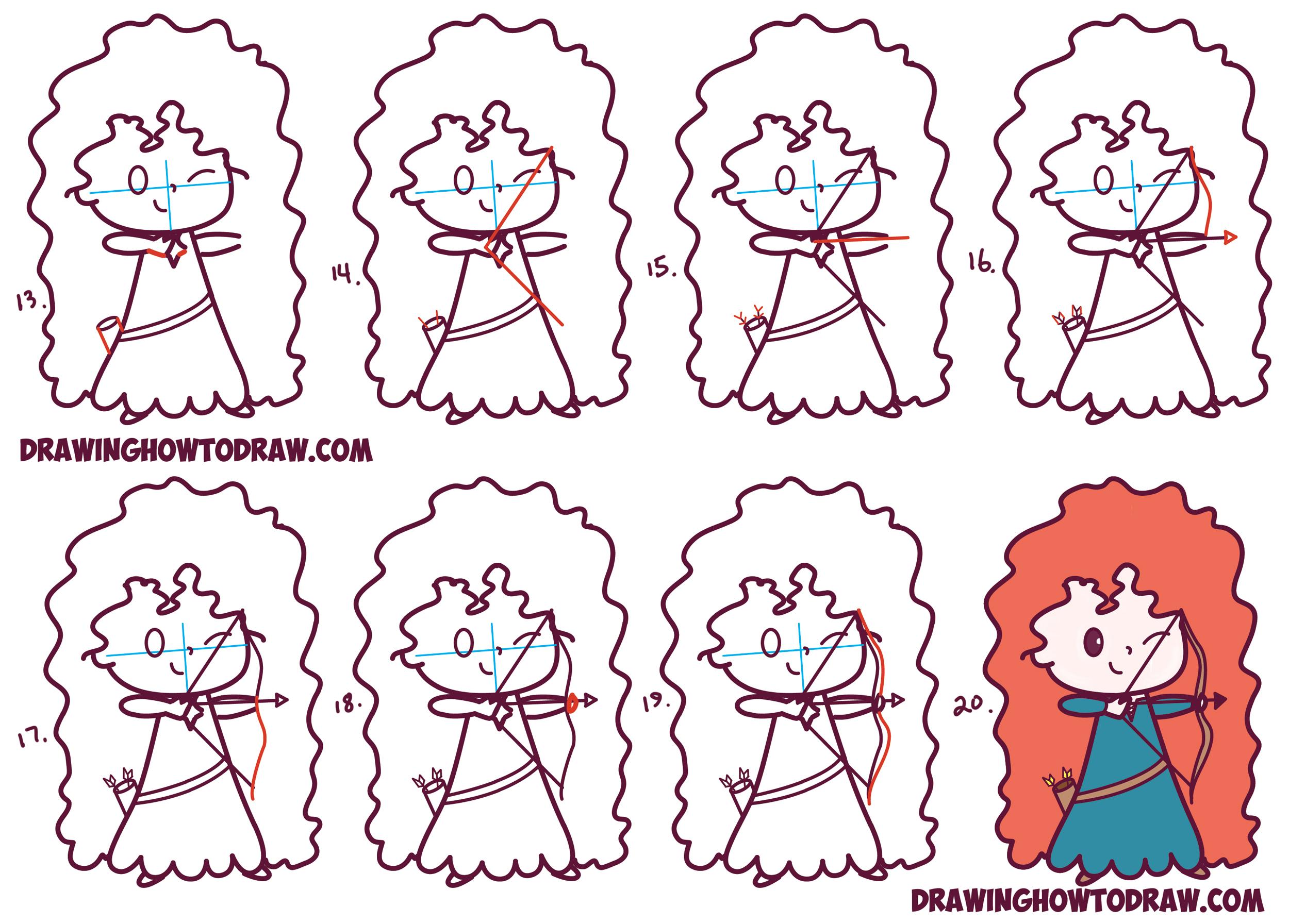 Cute Easy Disney Drawings Step By Step