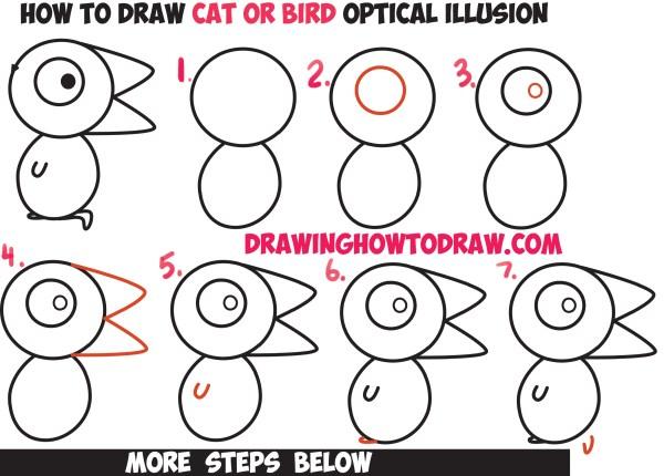 optical illusions find cat # 77
