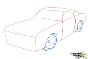 How to Draw a Ford Mustang  DrawingNow