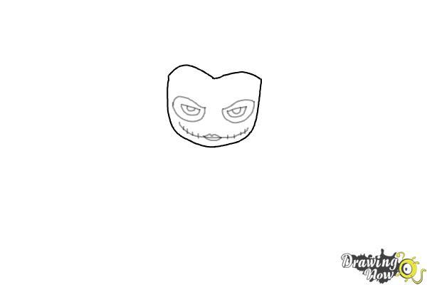 Drawing Half Face