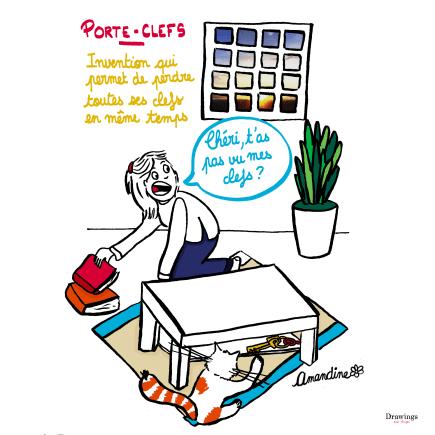 PorteClef_DrawingsAndThings