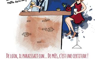 La drague selon Fourchette et Bikini, illustration by Drawingsandthings