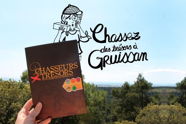 Chasseurs de trésors - Gruissan - Article de voyage by Drawingsandthings - Illustration