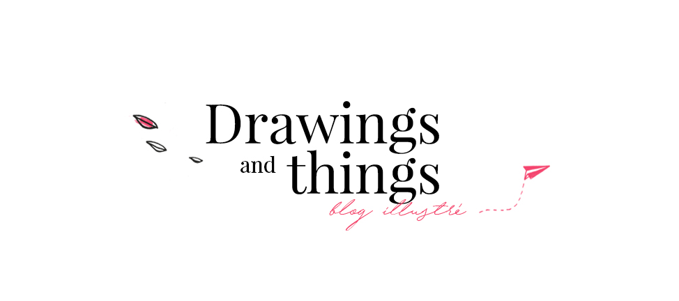 Amandine Drawing and Things - logo - Découvertes Web