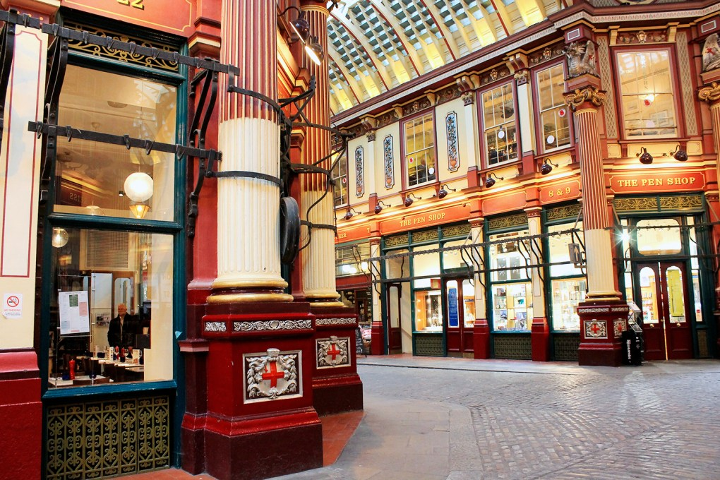 Harry Potter - Leadenhall Market - Londres - by Drawingsandthings